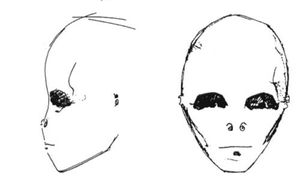 Roswell : Dessin Extra-terrestres.